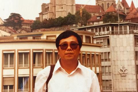 Shilun Qiu in Lyon